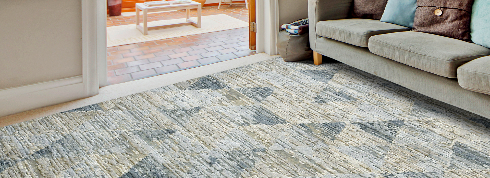 A Hand-knotted rug, also referred to as Oriental rugs, is a rug that is made by hand on a specialized loom